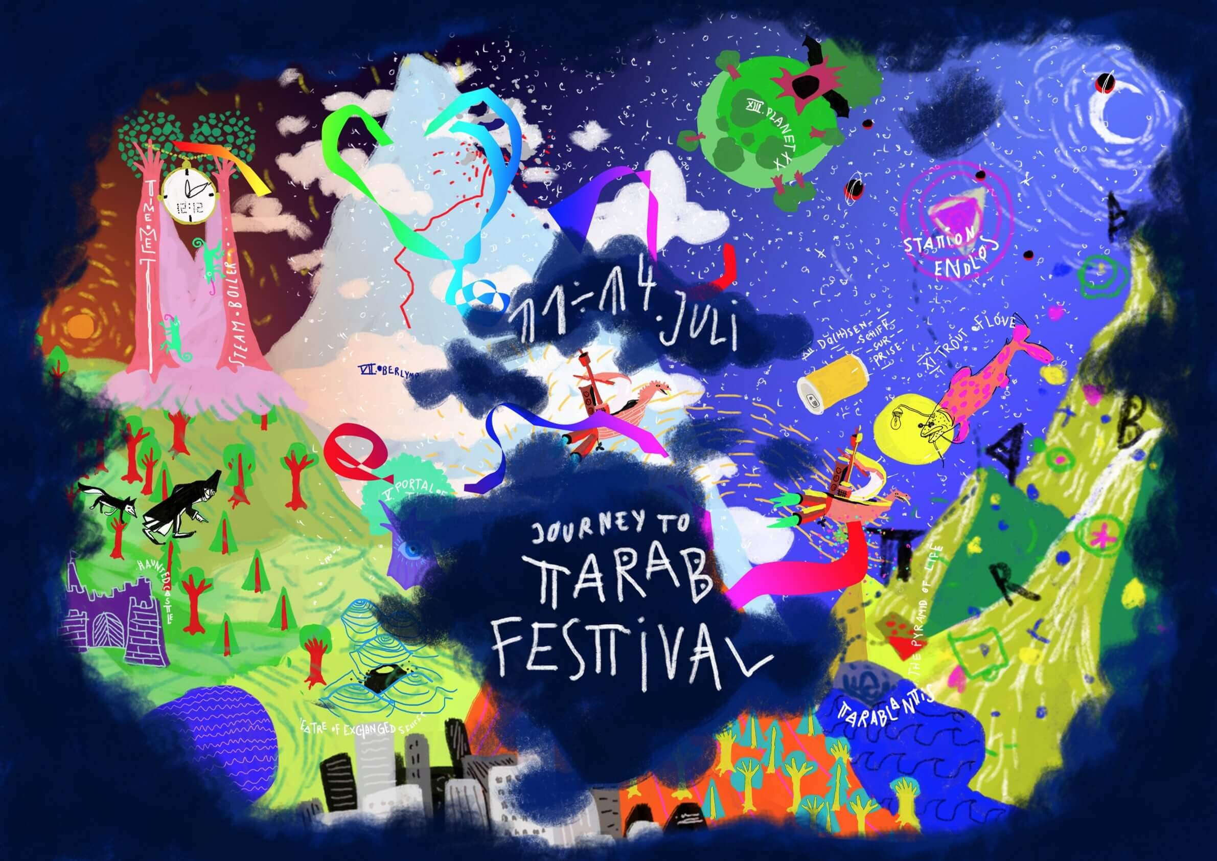 Das Journey to Tarab Festival vom 11. bis 14.Juli 2019 in Zsambek